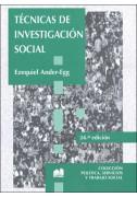 Técnicas de investigación social