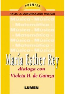 Violeta H. de Gainza conversa con María Esther Rey