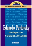 Violeta H. de Gainza conversa con Eduardo Pavlovsky