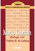 Violeta H. de Gainza conversa con Mario Gurfein
