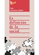La definición de lo social