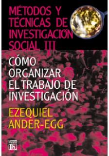 Métodos y técnicas de investigación social III