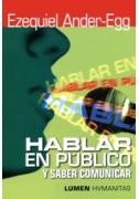 Hablar en público... y saber comunicar