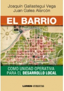 El barrio como unidad operativa para el desarrollo local